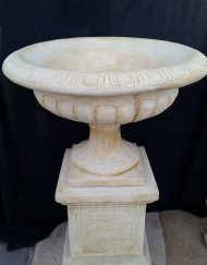Bird Bath on Pedestal
