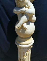 Cherub on Pedestal