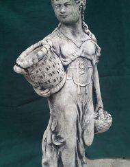 Lady Holding Basket