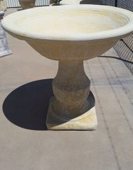 Victorian Bowl and Victorian Pedestal